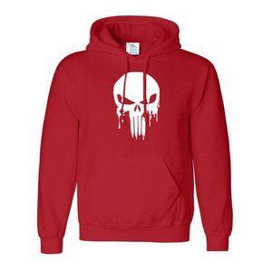 The Punisher Skull Sweatshirt Pullover Hoodie